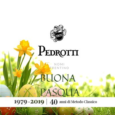 Pedrotti Spumanti Wishes a Happy Easter